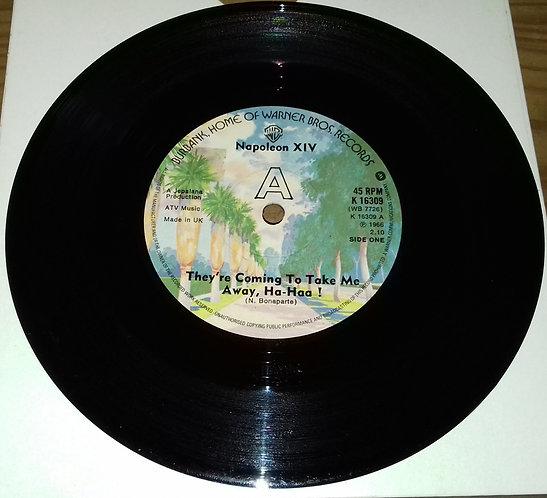 "Napoleon XIV - They're Coming To Take Me Away, Ha-Haa! (7"", Single, RE, Sol) (Wa"