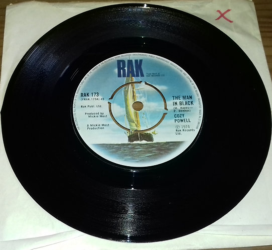 "Cozy Powell - The Man In Black (7"", Single) (RAK)"