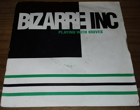 """Bizarre Inc - Playing With Knives (7"""", Single) (Vinyl Solution)"""