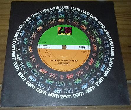 "Otis Redding - (Sittin' On) The Dock Of The Bay (7"", Single, RE, Sol) (Atlantic)"