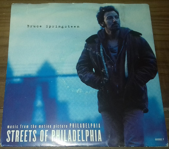 "Bruce Springsteen - Streets Of Philadelphia (7"", Single, Sma) (Columbia)"