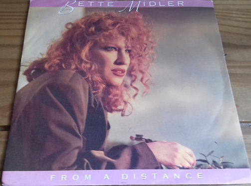 "Bette Midler - From A Distance (7"", Single, Lyn) (Atlantic, Atlantic)"