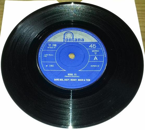 """Dave Dee, Dozy, Beaky, Mick & Tich - Bend It! (7"""", Single, Mono, Sol) (Fontana,"""