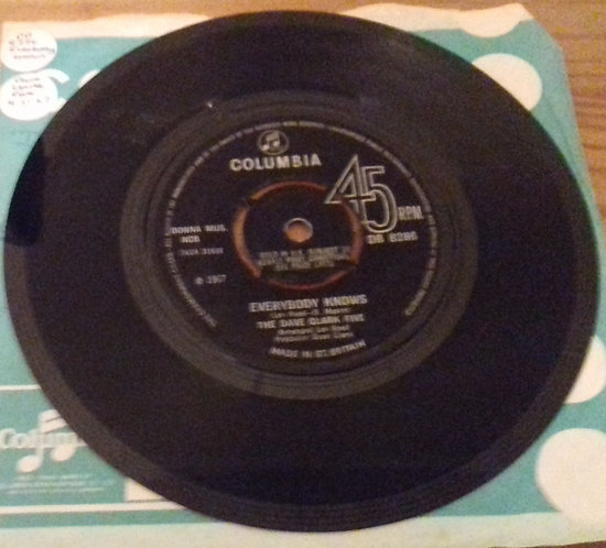 "The Dave Clark Five - Everybody Knows (7"", Single, 4-l) (Columbia)"