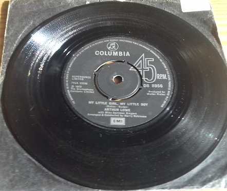 Arthur Lowe With Mike Sammes Singers - How I Won The War / My Little Girl, My L