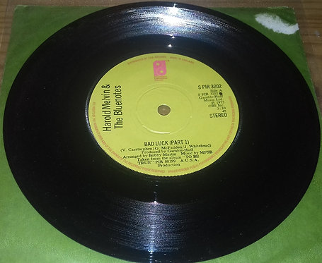 """Harold Melvin And The Blue Notes - Bad Luck (7"""", Single, Sol) (Philadelphia Inte"""
