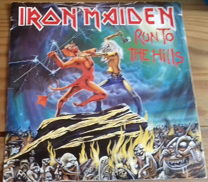 "Iron Maiden - Run To The Hills (7"", Single) (EMI)"