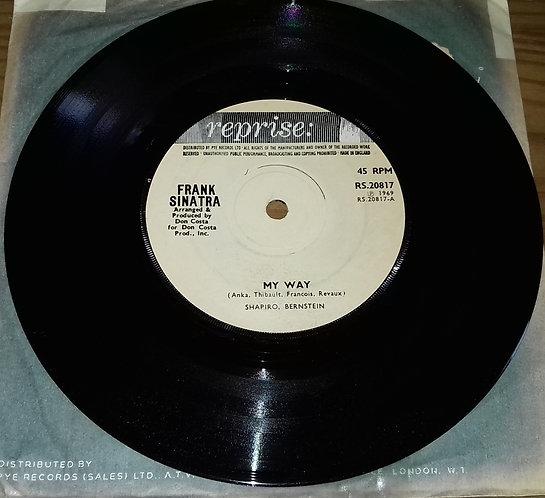 """Frank Sinatra - My Way (7"""", Sol) (Reprise Records)"""
