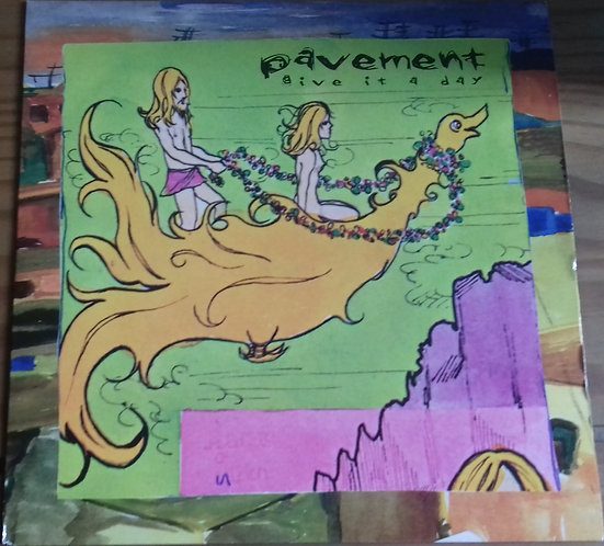 "Pavement - Give It A Day (7"", EP) (Big Cat)"