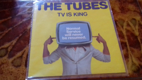 "The Tubes - TV Is King (7"", Yellow Vinyl) (A&M Records)"