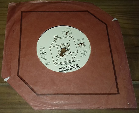"""Peter Cook & Dudley Moore - Goodbyee (7"""", RE) (Cube Records)"""