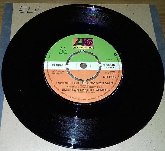 "Emerson, Lake & Palmer - Fanfare For The Common Man (7"", Single, Pap) (Atlantic"