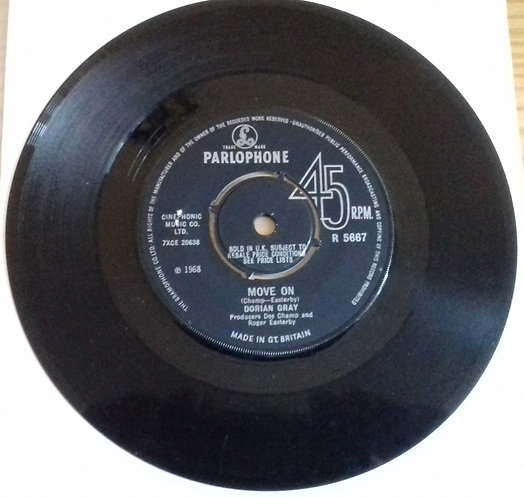 """Dorian Gray  - I've Got You On My Mind (7"""") (Parlophone)"""