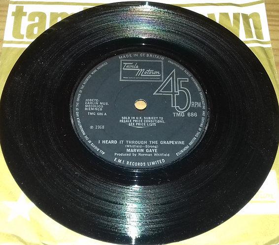 "Marvin Gaye - I Heard It Through The Grapevine (7"", Single) (Tamla Motown)"
