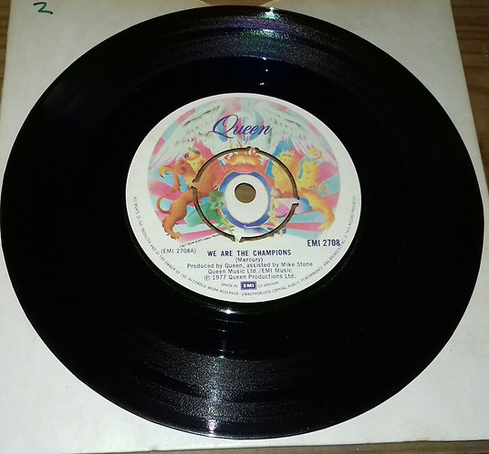 "Queen - We Are The Champions (7"", Single) (EMI)"