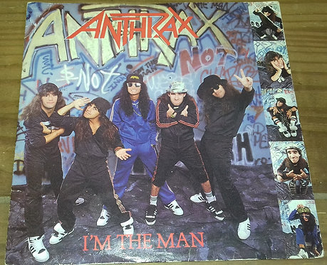 "Anthrax - I'm The Man (7"", Pap) (Island Records, Megaforce Worldwide)"