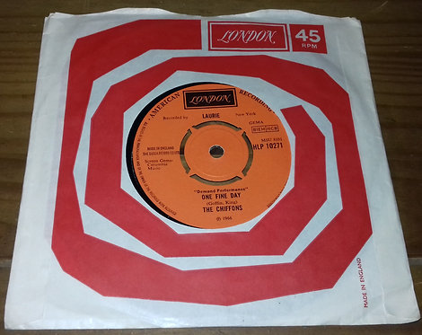 """The Chiffons - One Fine Day / Sweet Talking Guy (7"""", Single, RE) (London Records"""