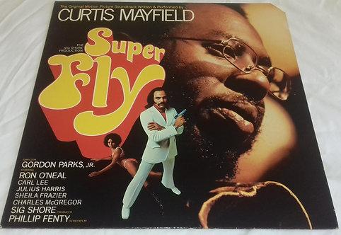 Curtis Mayfield - Super Fly (LP, RE, Als) (RSO, Curtom)