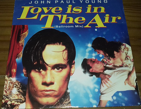 """John Paul Young - Love Is In The Air (Ballroom Mix) (7"""", Single) (Columbia)"""