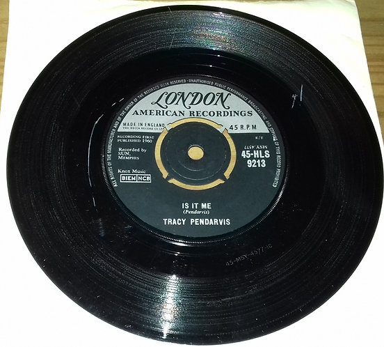 "Tracy Pendarvis - Is It Me (7"", Single) (London Records, London American Recordi"