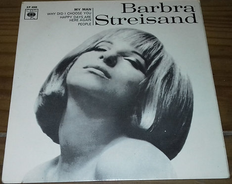 "Barbra Streisand - My Man (7"", EP, Sol) (CBS)"