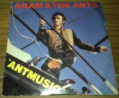 "Adam & The Ants* - Antmusic (7"", Single, Inj) (CBS, CBS)"