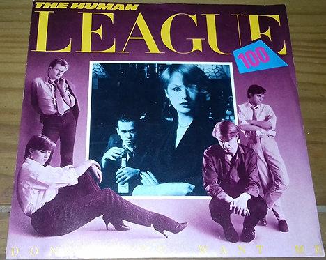 """The Human League - Don't You Want Me (7"""", Single) (Virgin, Virgin)"""