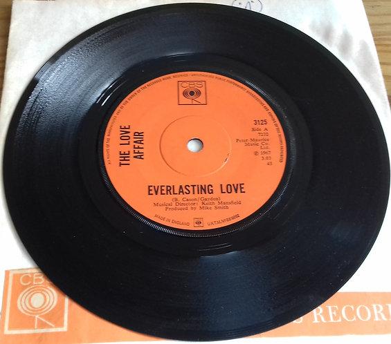 "The Love Affair - Everlasting Love (7"", Single, Sol) (CBS)"