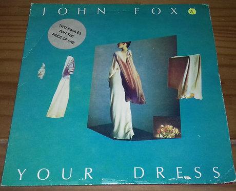 "John Foxx - Your Dress (2x7"", Single, Gat) (Virgin, Virgin)"