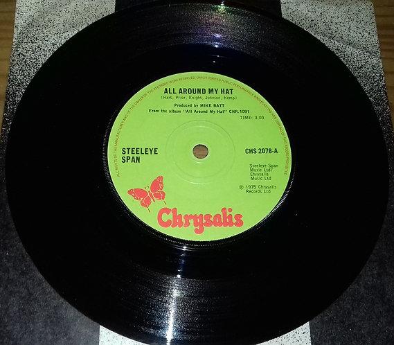 "Steeleye Span - All Around My Hat (7"", Single, Sol) (Chrysalis)"