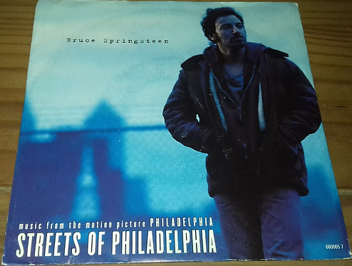 "Bruce Springsteen - Streets Of Philadelphia (7"", Single, Sma) (Columbia)"