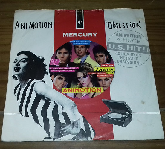 "Animotion - Obsession (7"", Single, Sil) (Mercury, Mercury, Mercury)"
