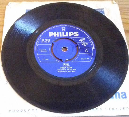 "Bobby Hebb - Sunny (7"", Mono, 3 P) (Philips, Philips)"