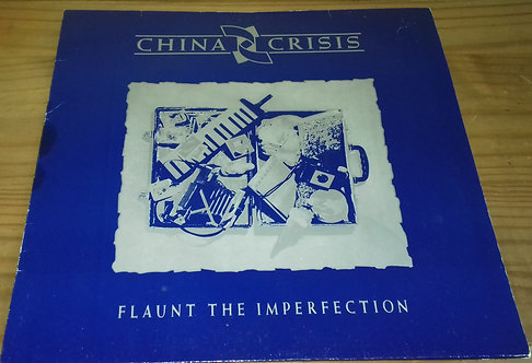 China Crisis - Flaunt The Imperfection (LP, Album) (Virgin, Virgin)
