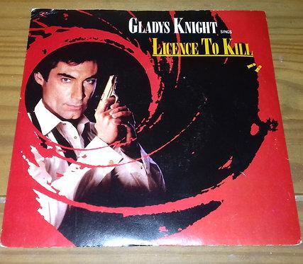 "Gladys Knight - Licence To Kill (7"", Single, Red) (MCA Records)"