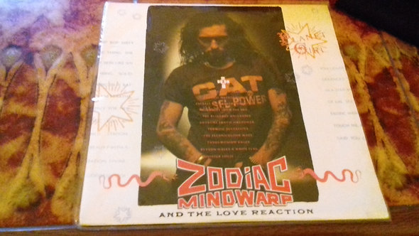 "Zodiac Mindwarp And The Love Reaction - Planet Girl (7"", Single)"