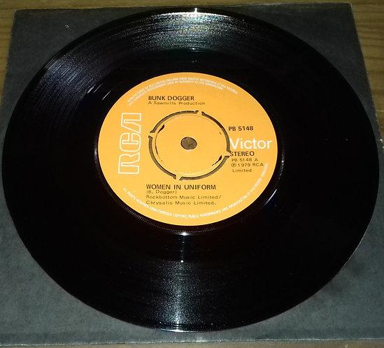 "Bunk Dogger - Women In Uniform (7"", Single) (RCA)"