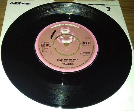 "Trammps* - Sixty Minute Man (7"", Single) (Buddah Records)"