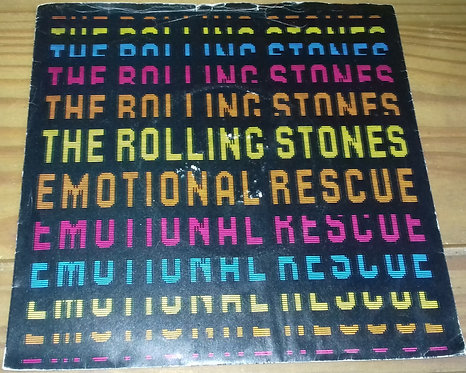 """The Rolling Stones - Emotional Rescue (7"""", Single) (Rolling Stones Records)"""
