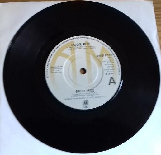 "Split Enz - Poor Boy (7"", Single) (A&M Records)"