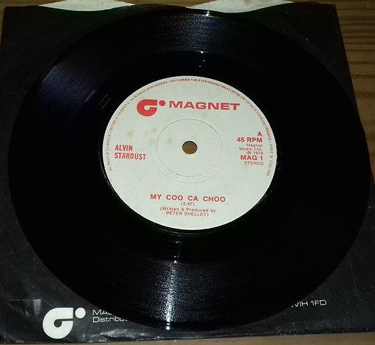"""Alvin Stardust - My Coo Ca Choo (7"""", Whi) (Magnet (2))"""