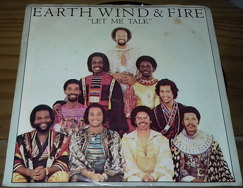 "Earth, Wind & Fire - Let Me Talk (7"", Single) (ARC (3), Columbia)"