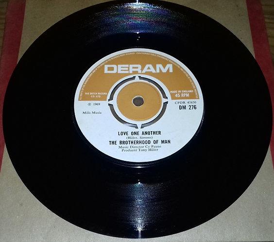 "Brotherhood Of Man - Love One Another (7"", Single) (Deram)"