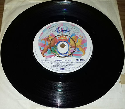 "Queen - Somebody To Love (7"", Single, Com) (EMI)"