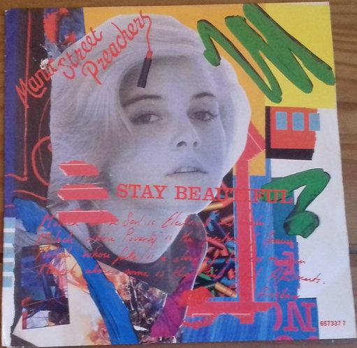 "Manic Street Preachers - Stay Beautiful (7"", Single) (Columbia)"
