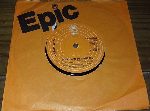 """Cheap Trick - I Want You To Want Me (7"""") (Epic)"""