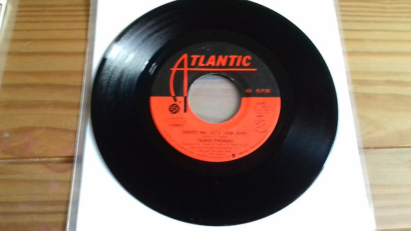 "Tasha Thomas - Shoot Me (With Your Love) (7"", SP ) (Atlantic, Orbit Records (2))"