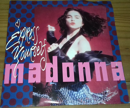 """Madonna - Express Yourself (7"""", Single, Lar) (Sire, Sire)"""