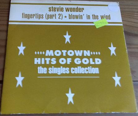 "Stevie Wonder - Fingertips (Part 2) / Blowin' In The Wind (7"") (Motown)"