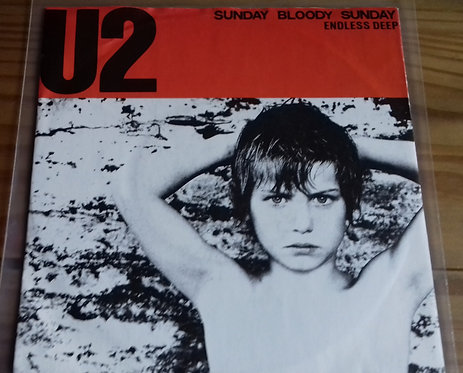 "U2 - Sunday Bloody Sunday / Endless Deep (7"", Single, Sol) (Island Records)"